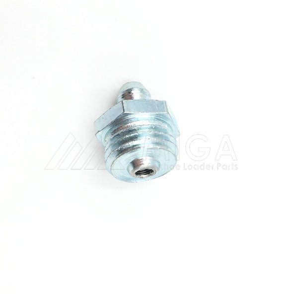 1450/0002 JCB Grease Straight Nipple 1/4